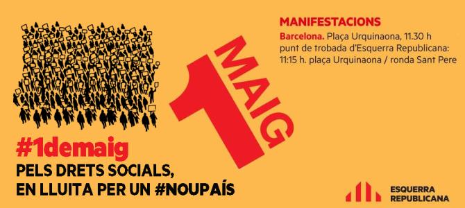 Pels drets socials, en lluita per un #noupaís