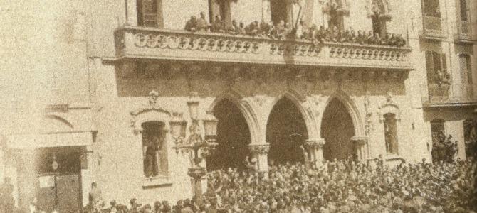 14 d'abril, Terrassa proclama la República