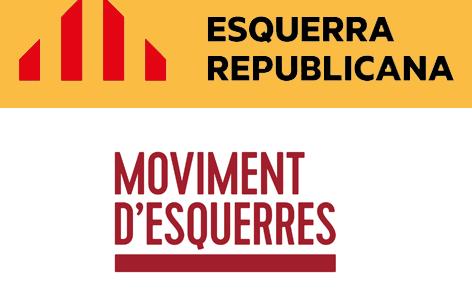 Xavier Heras tancarà la llista d'Esquerra Republicana a Terrassa. Eduard Gonzàlez, cap de llista de la JERC, nº 6 de la candidatura.