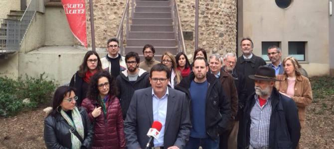 Tots els integrants de la candidatura d'Esquerra Republicana de Catalunya i MÉS s'adhereixen al Manifest de l'Assemblea Nacional Catalana