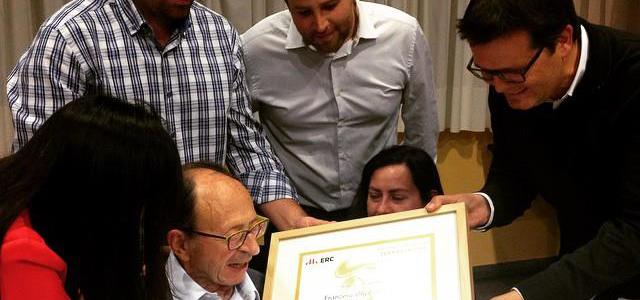 ERC Terrassa atorga el Premi Gorra Frígia als valors republicans