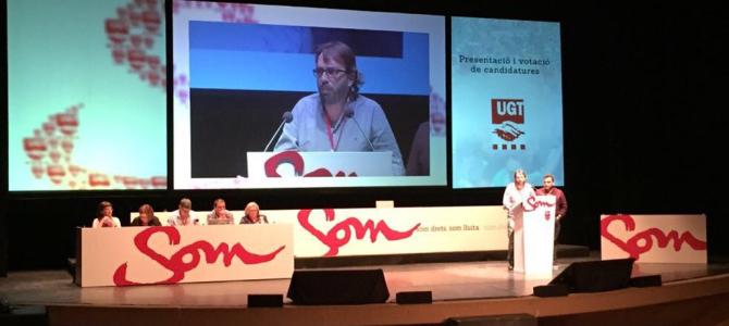 40 anys de la UGT a Terrassa: calen sindicats forts!