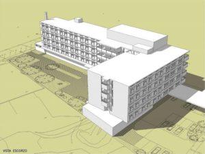Projecte de la Residència i Centre de dia pendent de construcció a Sant Pere Nord
