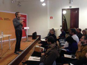 """Jordi Gusi, gerent d'ECAS: """"És bona la col·laboració entre l'administració local i les entitats socials."""""""