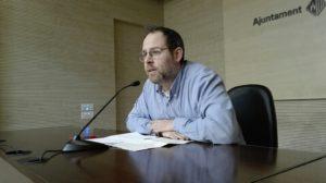 """Carles Caballero: """"L'àrea de Territori té molts temes oberts i no n'aborda cap amb decisió. Ni transport, ni pla de mobilitat, ni Anella verda..."""""""