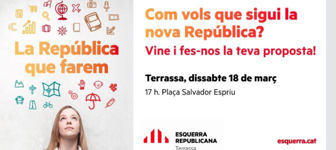 Macroparada a Terrassa – Com vols la República Catalana?