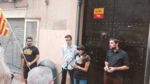 """Xènia Alba: Nosaltres lluitem per un dels drets més universals, la llibertat. La llibertat d'expressar-nos i decidir el nostre futur""""."""