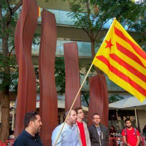"""Carles Caballero: """"Venen setmanes en què hem de mostrar al món el que som: un poble unit i pacífic que només vol votar"""""""