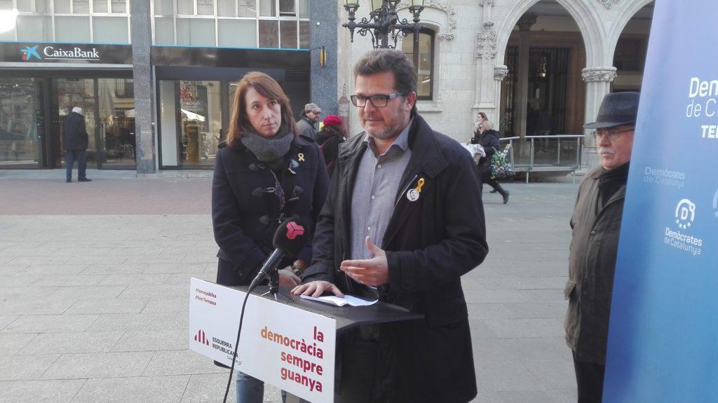 """Isaac Albert: """"Som la tercera ciutat en nombre d'habitants de Catalunya, volem ser la primera en qualitat de vida per la seva ciutadania i el 21D aconseguir ser la segona en nombre de vots republicans"""""""