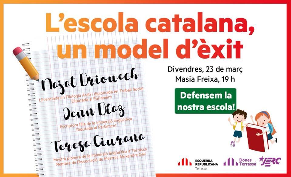 Acte Escola Catalana un model d'èxit