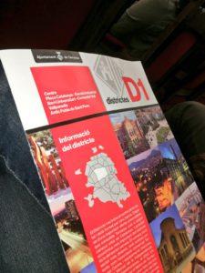 Portada de les polèmiques revistes de districte. Informació equivoca i propaganda de govern