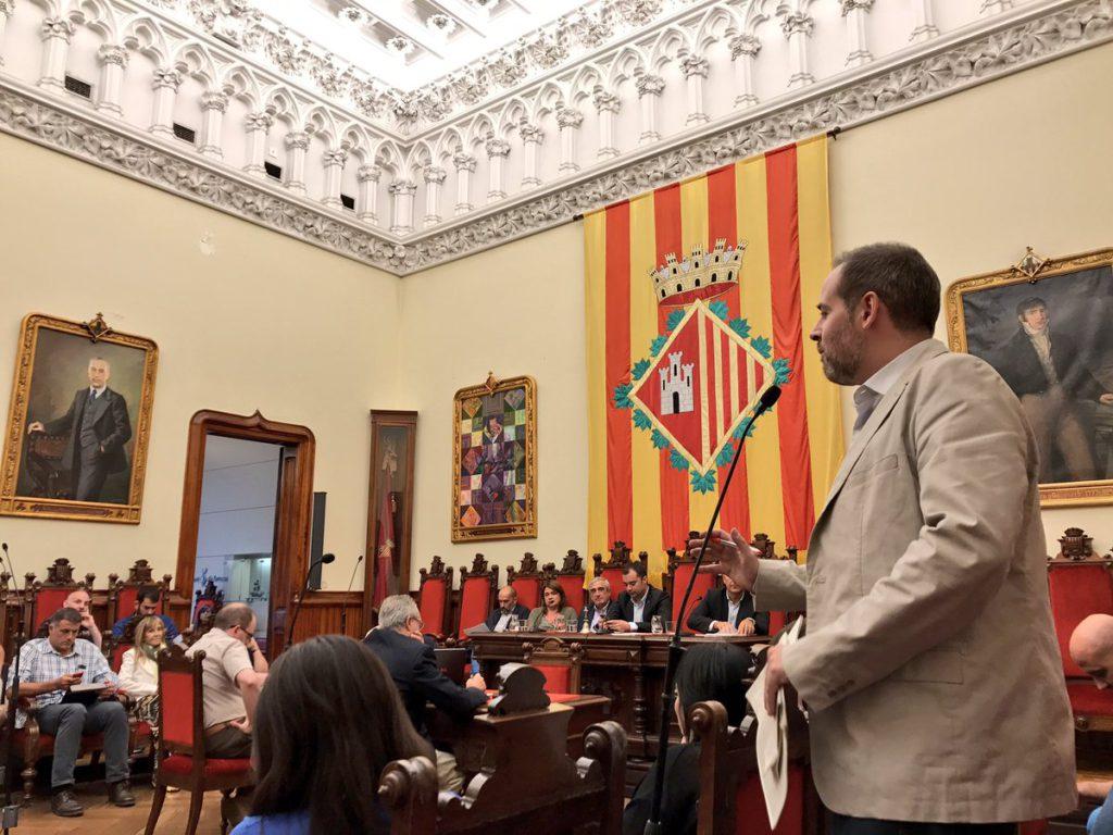 """Carles Caballero: """"El Ple de Terrassa és el màxim òrgan de representació de la ciutadania de Terrassa. Si el govern no compleix el que s'hi aprova dona l'esquena a la voluntat democràtica dels terrassencs i terrassenques"""""""
