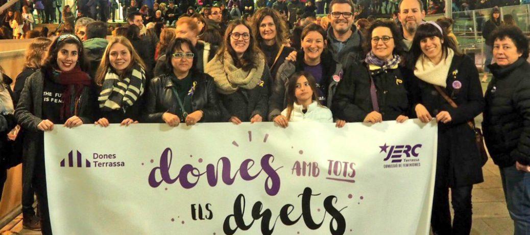 Les dones hi som i tenim veu