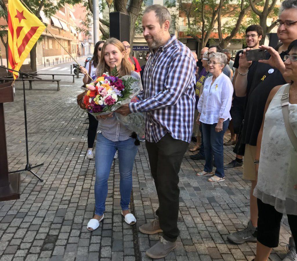"""Carles Caballero: """"La voluntat de ser és el que ens ha permés alçar-nos després dels embats de l'Estat després de l'1 d'Octubre. L'Estat no ha pogut guanyar mai la nostra perserverança"""""""