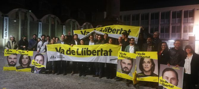 """Inici campanya 28A – """"Va de Llibertat"""""""