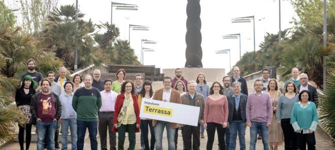 Experiència, diversitat i renovació, la llista d'ERC-MES per impulsar Terrassa