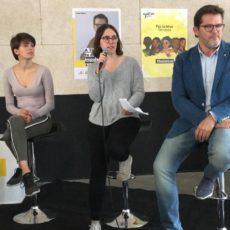 """Ona Martínez: """"El jovent i les dones votarem per canviar les coses i fer que se'n vagin els de sempre"""""""