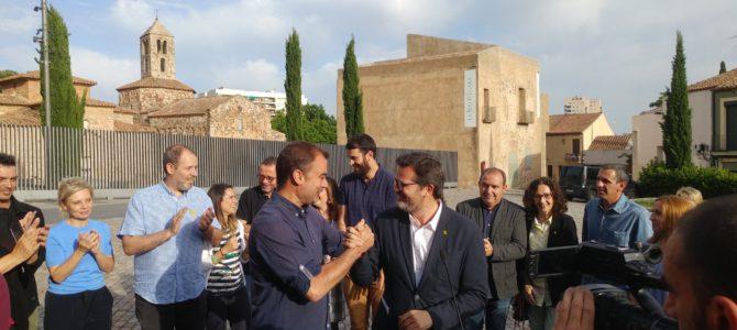 ERC-MES i Tot per Terrassa signen l'acord que els permetrà governar junts