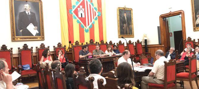 El Ple exigeix la llibertat dels presos polítics