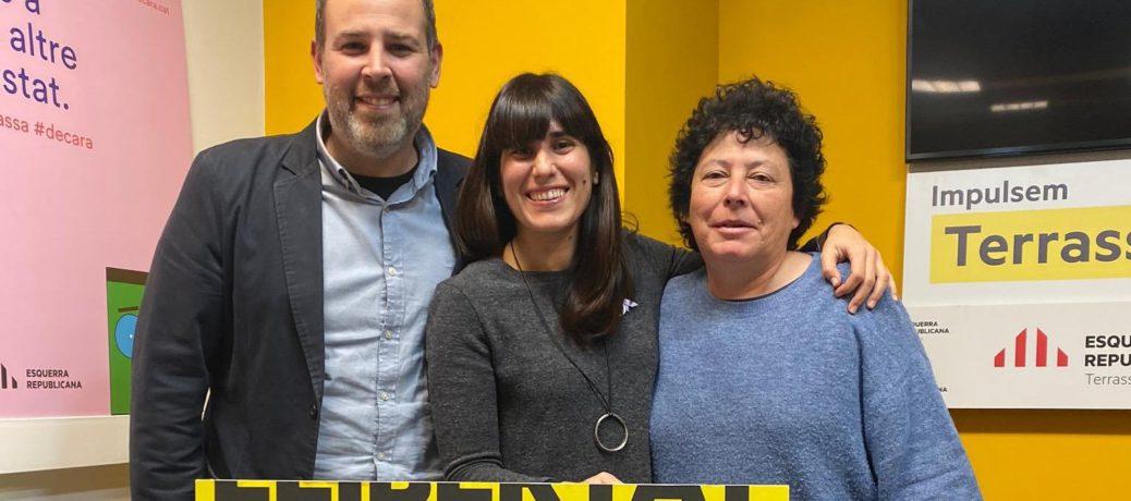 Xènia Albà, nova presidenta d'ERC Terrassa