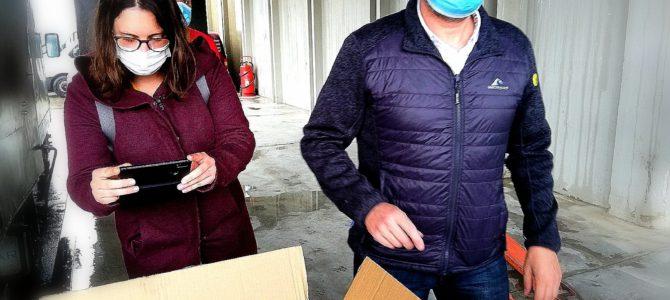 Arriben a Terrassa 400.000 mascaretes del milió que va comprar l'Ajuntament