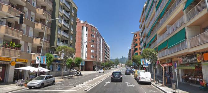 Terrassa adapta l'espai públic per a una mobilitat més saludable i sostenible
