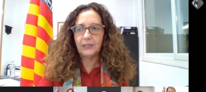 """Teresa Ciurana: """"La Covid-19 ens ha capgirat la planificació dels serveis i hem hagut de reinventar-nos per donar resposta a les noves necessitats"""""""