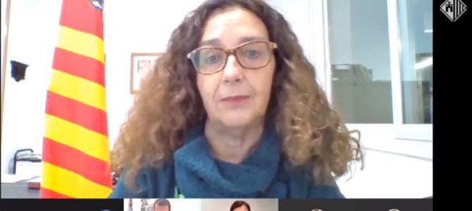 """Teresa Ciurana: """"La pandèmia és global i l'hem d'afrontar de forma col·lectiva"""""""