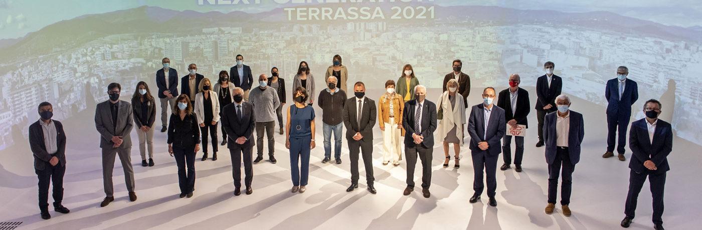 Terrassa presenta els projectes Next Generation
