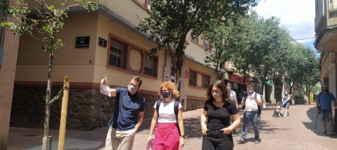 Elisenda Alamany visita Terrassa. Buscant polítiques compartides entre grans ciutats