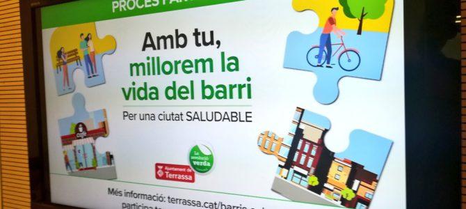 Barris Saludables, el nou procés participatiu municipal